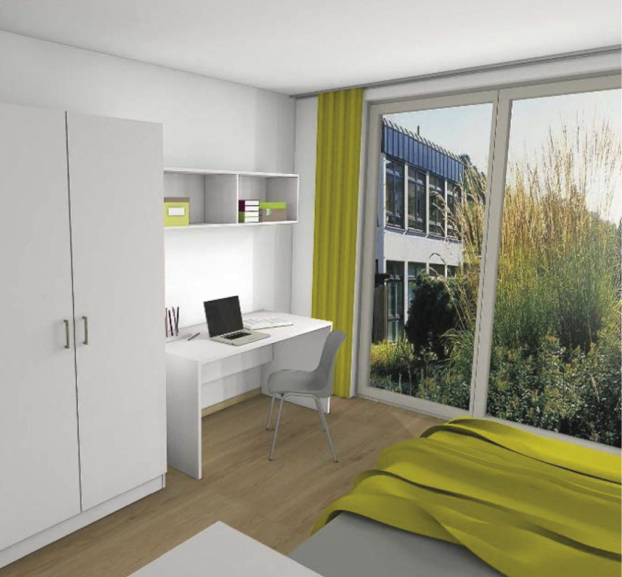 47 Mikro Apartments In Aalen Apartmentanlage Wellandstrasse